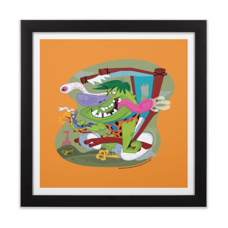 Fink-Stone Home Framed Fine Art Print by righthemispherelaboratory's Shop