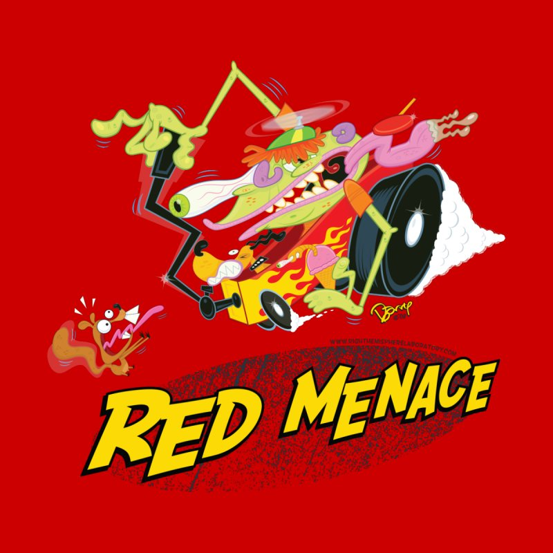Red Menace Men's Sweatshirt by righthemispherelaboratory's Shop