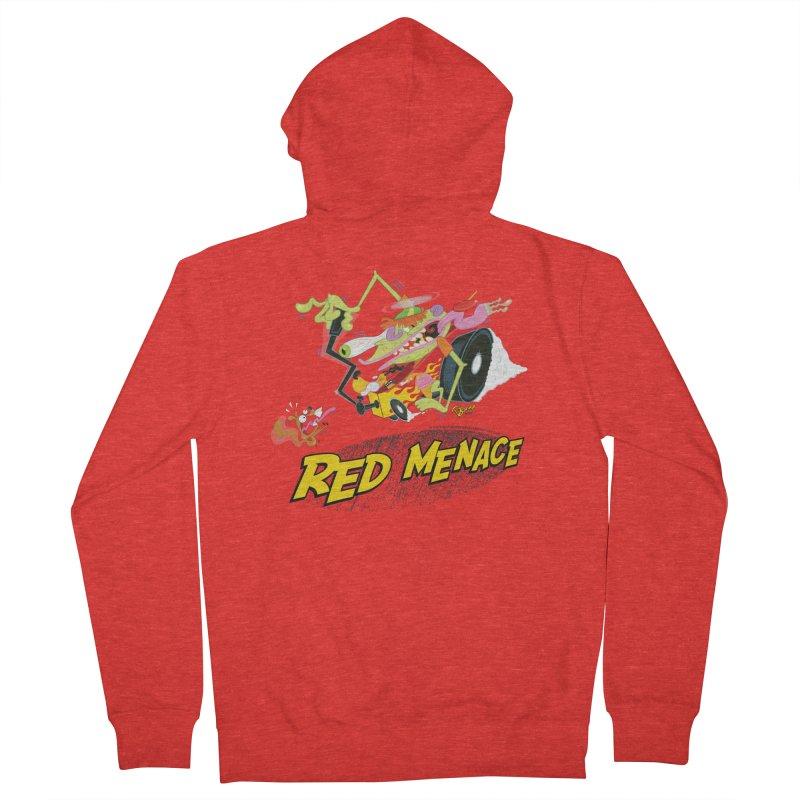 Red Menace Women's Zip-Up Hoody by righthemispherelaboratory's Shop