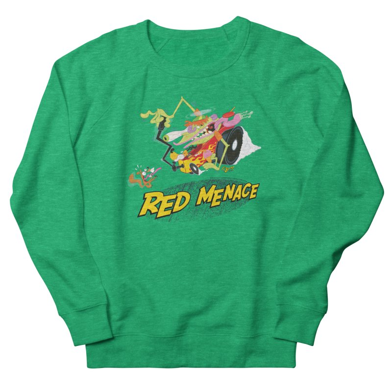 Red Menace Women's French Terry Sweatshirt by righthemispherelaboratory's Shop
