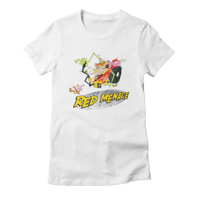 Red Menace Women's T-Shirt by righthemispherelaboratory's Shop