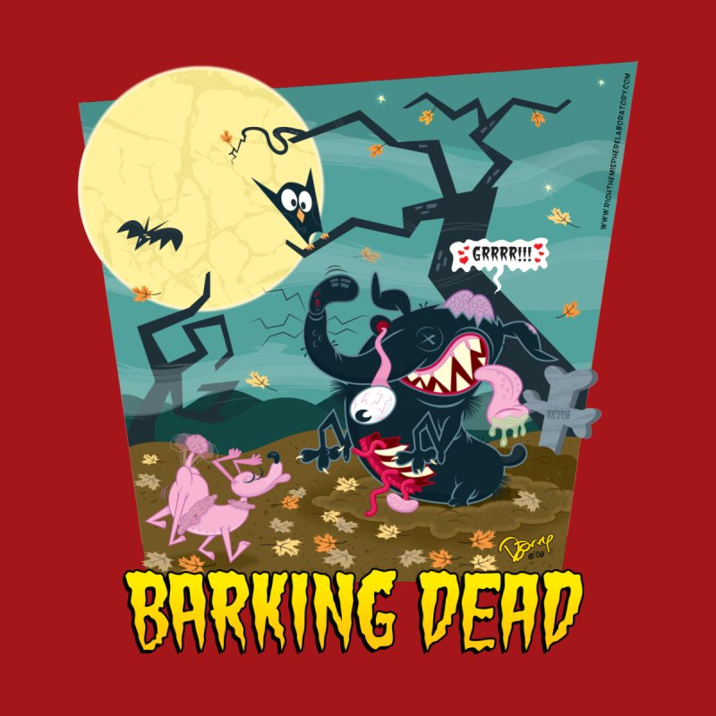 Barking Dead Home Mounted Aluminum Print by righthemispherelaboratory's Shop