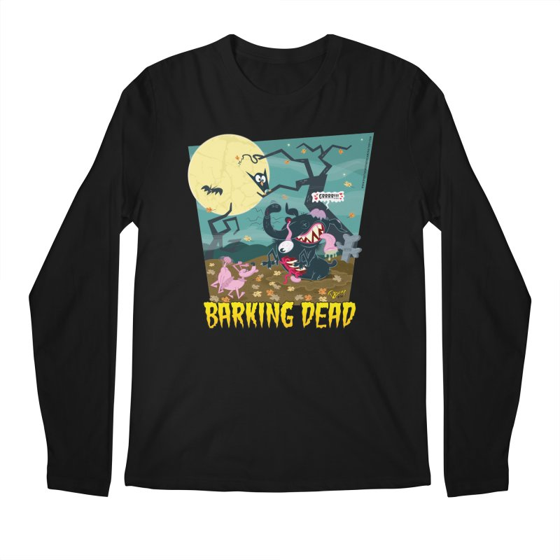 Barking Dead Men's Regular Longsleeve T-Shirt by righthemispherelaboratory's Shop