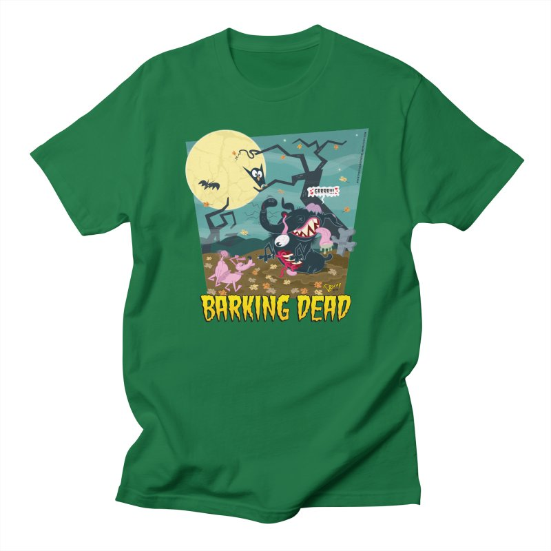 Barking Dead Men's T-Shirt by righthemispherelaboratory's Shop