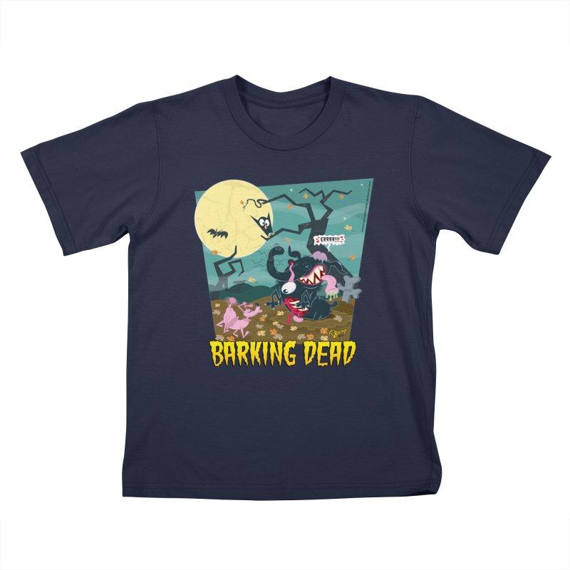 Barking Dead Kids T-Shirt by righthemispherelaboratory's Shop