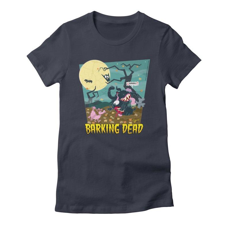 Barking Dead Women's T-Shirt by righthemispherelaboratory's Shop