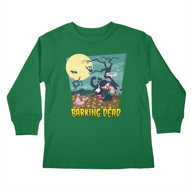 Barking Dead Kids Longsleeve T-Shirt by righthemispherelaboratory's Shop