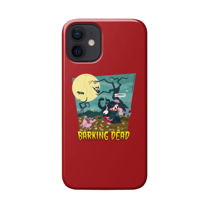 Barking Dead Accessories Phone Case by righthemispherelaboratory's Shop
