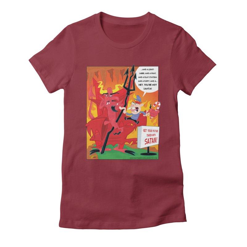 Not Santa Women's T-Shirt by righthemispherelaboratory's Shop