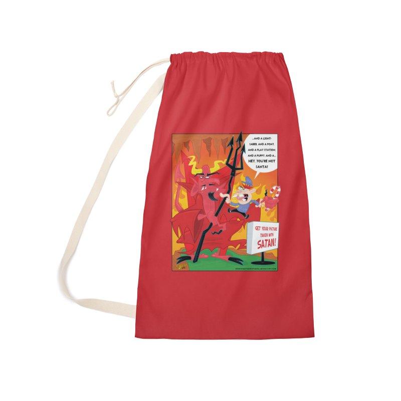 Not Santa Accessories Bag by righthemispherelaboratory's Shop