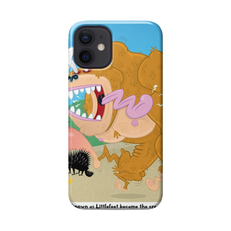 How Bigfoot Got His Big Foot Accessories Phone Case by righthemispherelaboratory's Shop