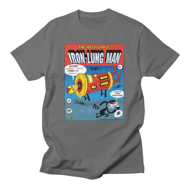Iron-Lung Man Men's T-Shirt by righthemispherelaboratory's Shop