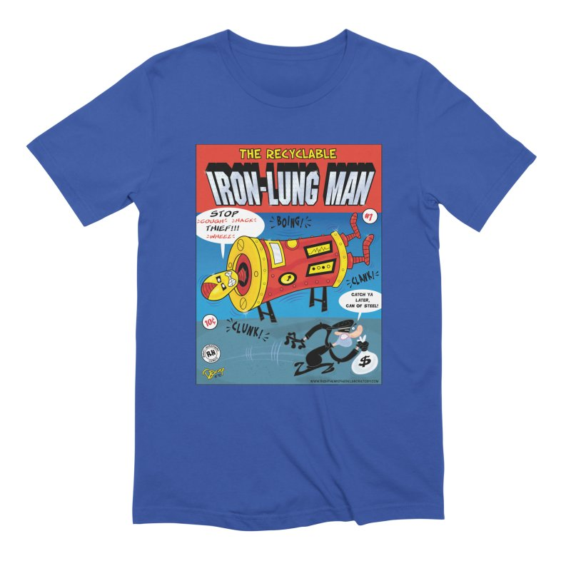 Iron-Lung Man Men's T-Shirt by righthemispherelaboratory's Shop