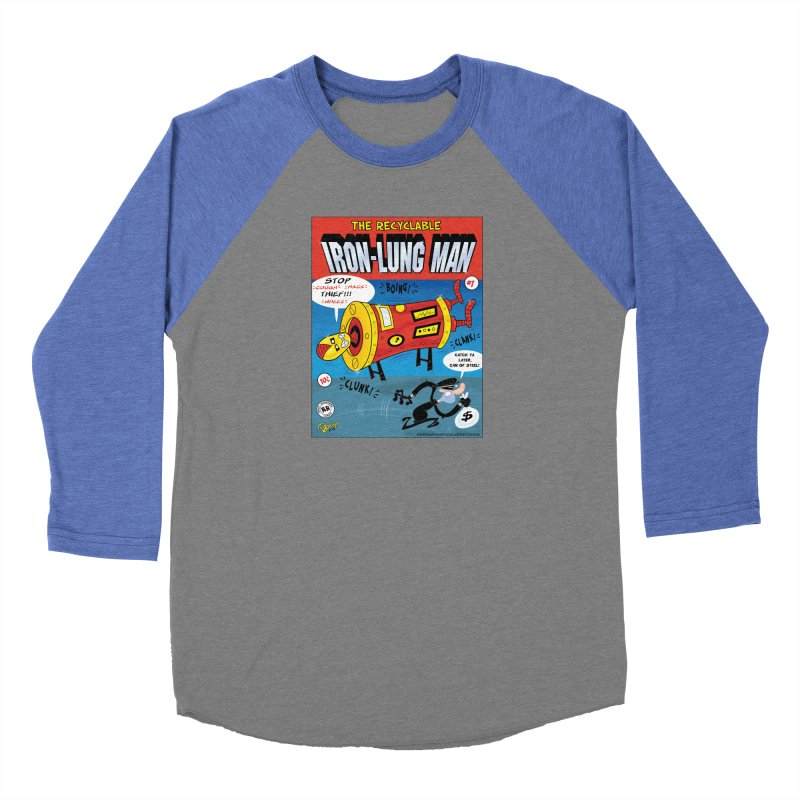 Iron-Lung Man Women's Longsleeve T-Shirt by righthemispherelaboratory's Shop