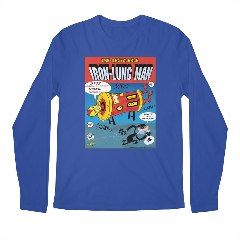 Iron-Lung Man Men's Regular Longsleeve T-Shirt by righthemispherelaboratory's Shop