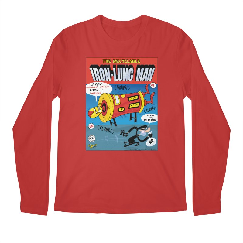Iron-Lung Man Men's Longsleeve T-Shirt by righthemispherelaboratory's Shop