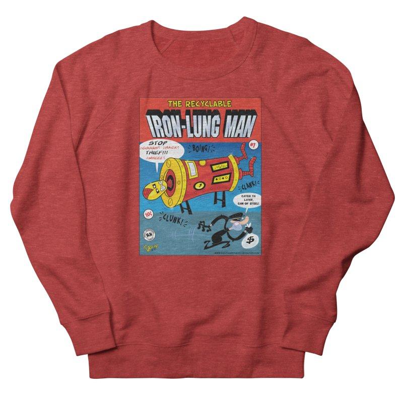 Iron-Lung Man Women's French Terry Sweatshirt by righthemispherelaboratory's Shop