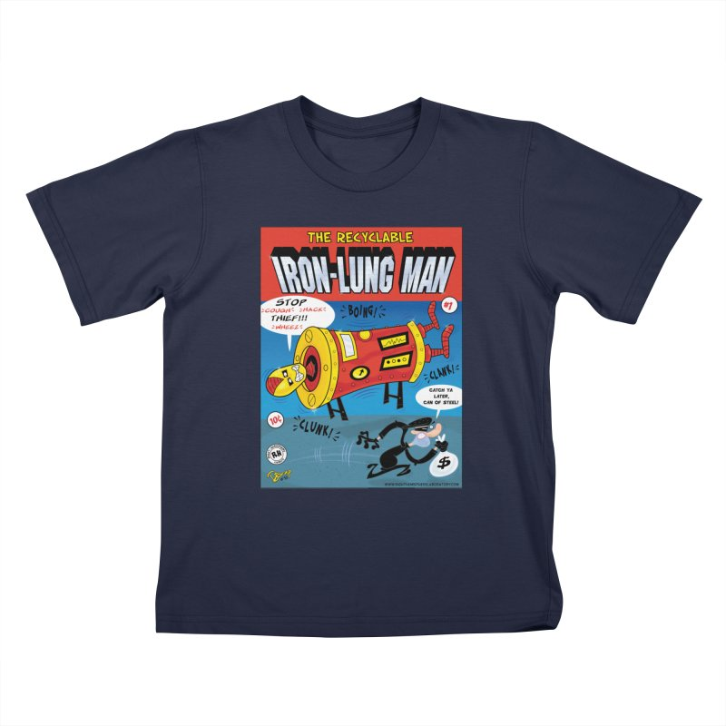 Iron-Lung Man Kids T-Shirt by righthemispherelaboratory's Shop