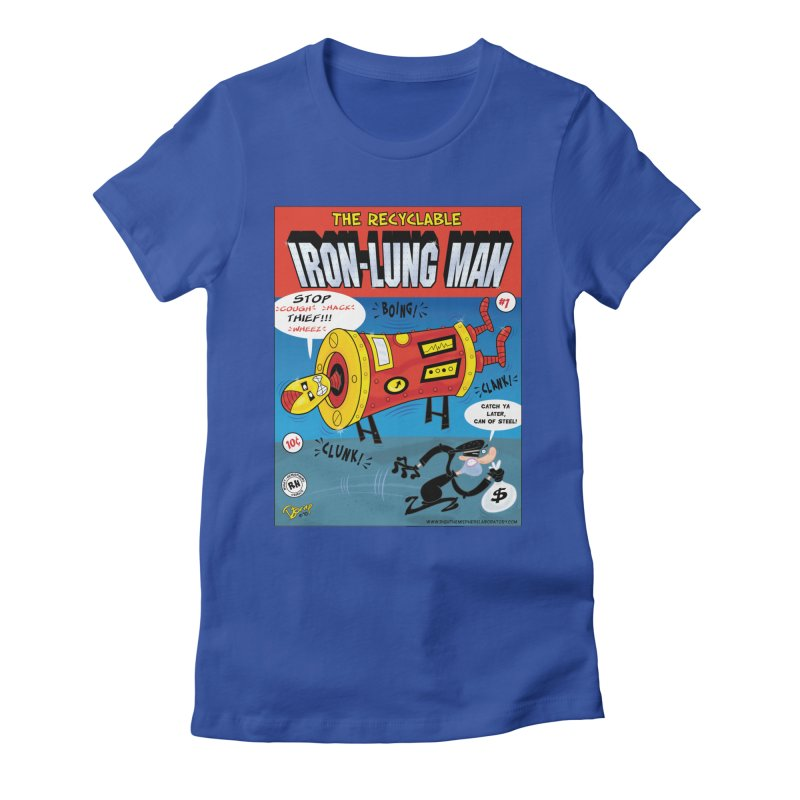 Iron-Lung Man Women's T-Shirt by righthemispherelaboratory's Shop