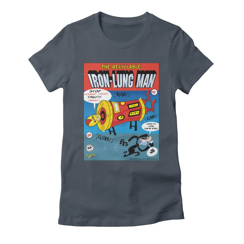 Iron-Lung Man Women's T-Shirt by righthemispherelaboratory's Shop