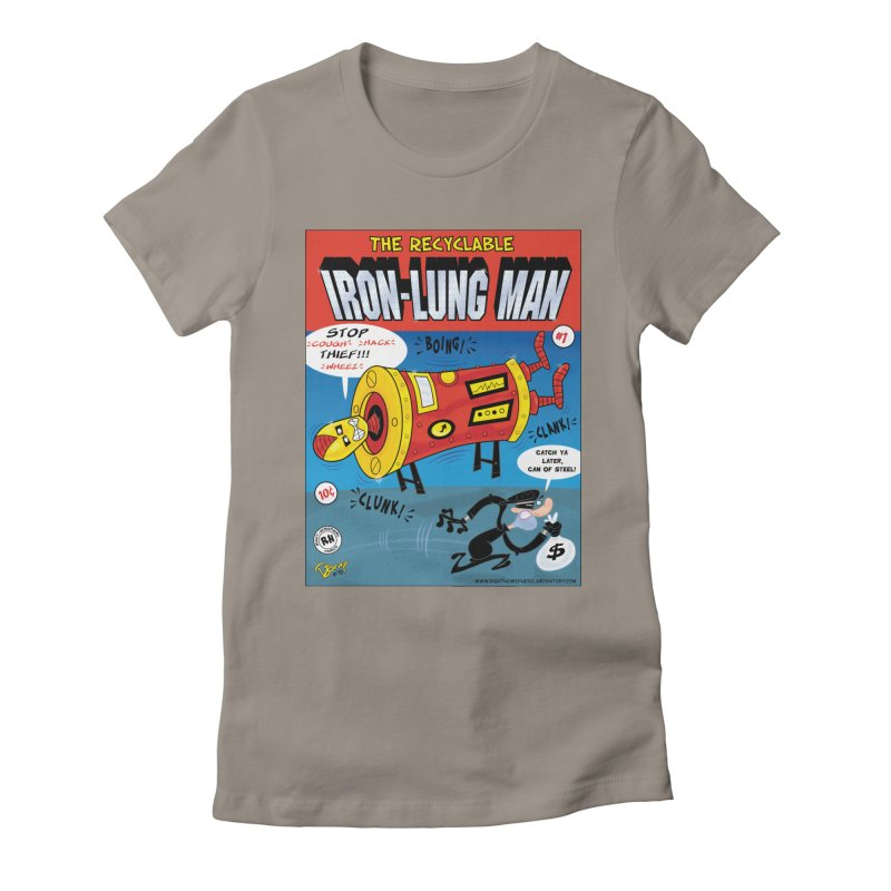 Iron-Lung Man Women's Fitted T-Shirt by righthemispherelaboratory's Shop