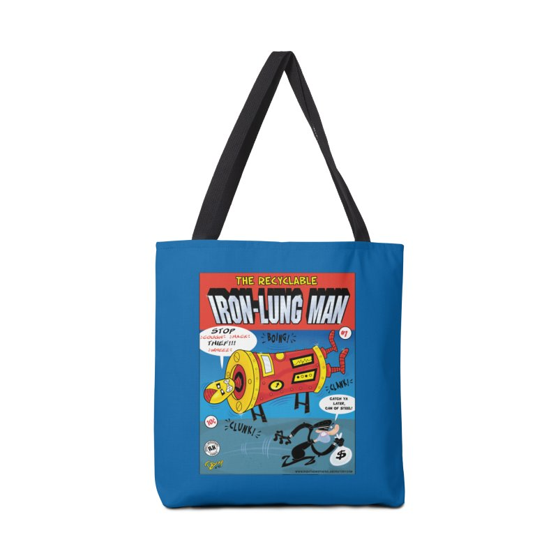 Iron-Lung Man Accessories Tote Bag Bag by righthemispherelaboratory's Shop