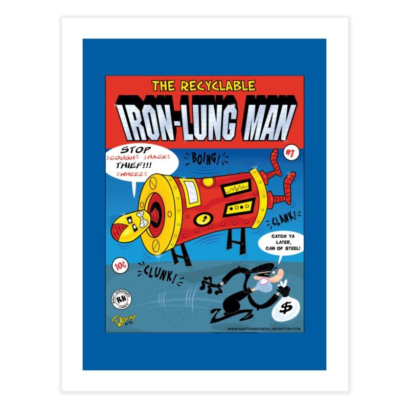 Iron-Lung Man Home Fine Art Print by righthemispherelaboratory's Shop