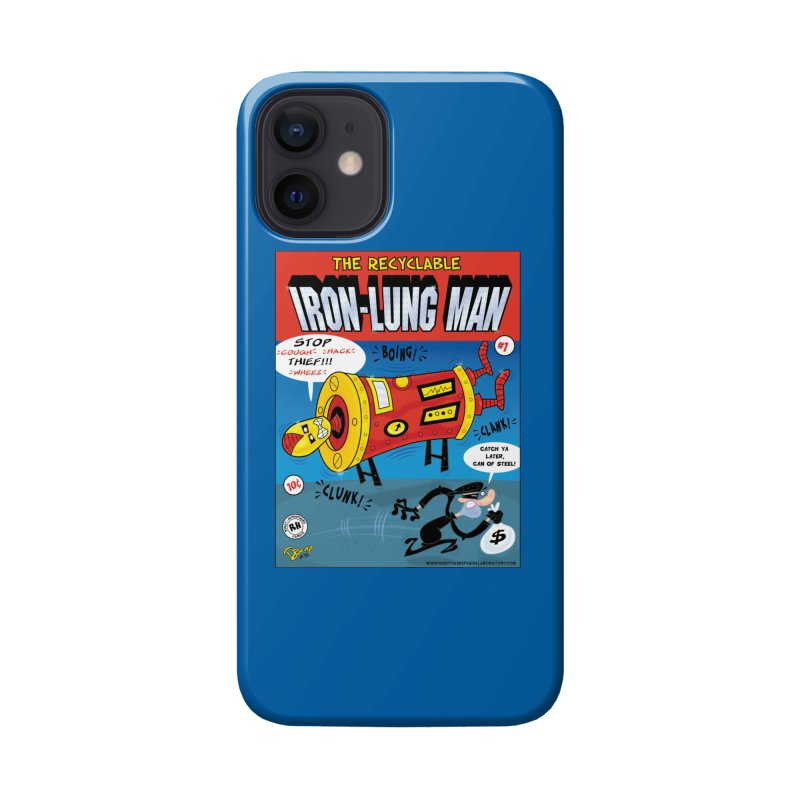 Iron-Lung Man Accessories Phone Case by righthemispherelaboratory's Shop
