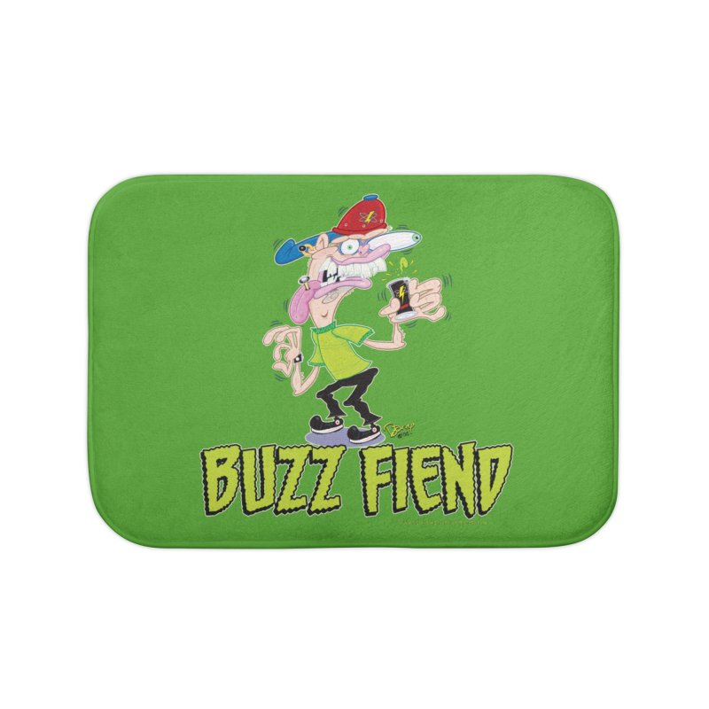 Buzz Fiend Home Bath Mat by righthemispherelaboratory's Shop