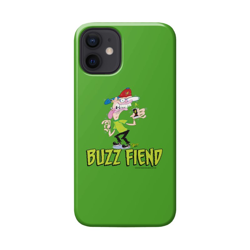 Buzz Fiend Accessories Phone Case by righthemispherelaboratory's Shop