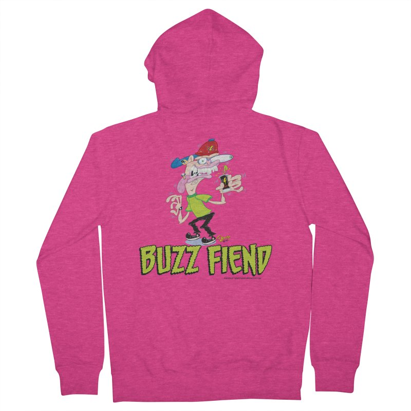Buzz Fiend Women's Zip-Up Hoody by righthemispherelaboratory's Shop