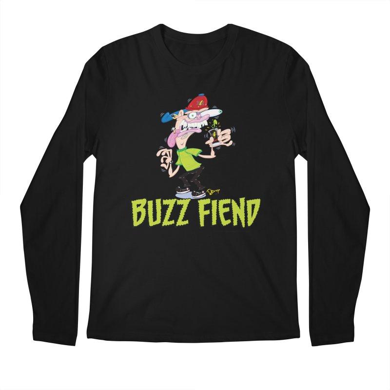 Buzz Fiend Men's Longsleeve T-Shirt by righthemispherelaboratory's Shop