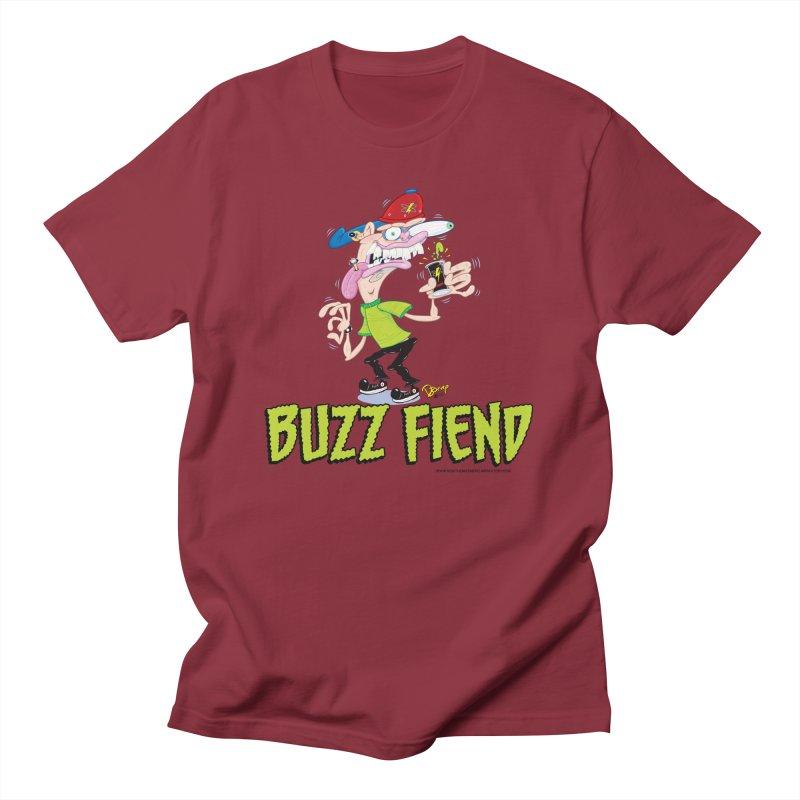 Buzz Fiend Men's T-Shirt by righthemispherelaboratory's Shop