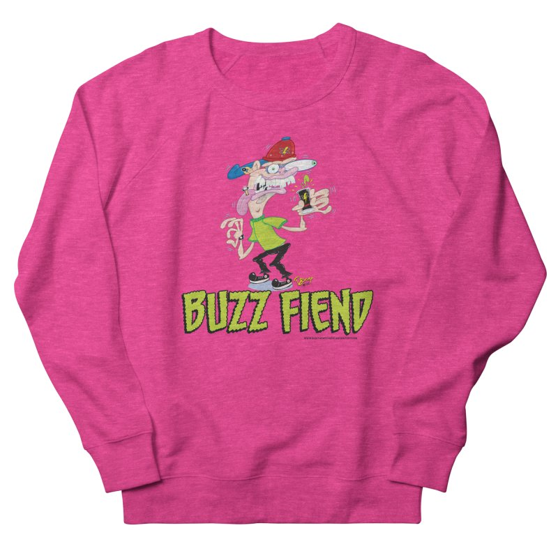 Buzz Fiend Women's Sweatshirt by righthemispherelaboratory's Shop