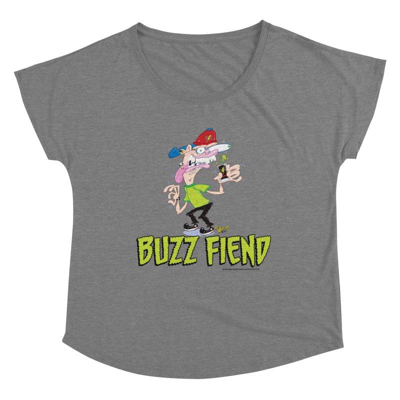Buzz Fiend Women's Dolman Scoop Neck by righthemispherelaboratory's Shop
