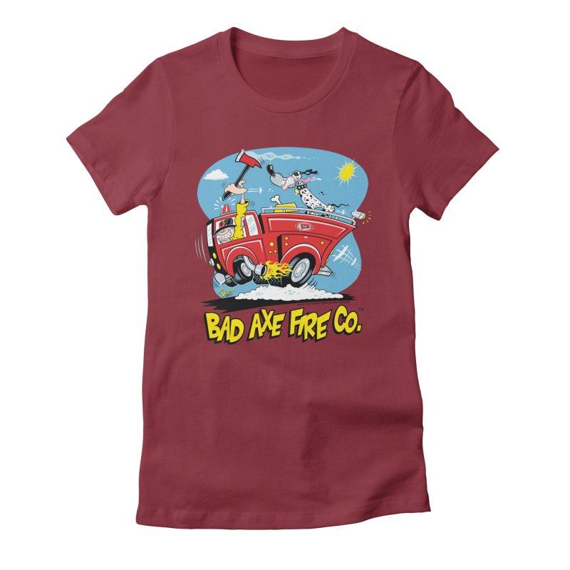 Bad Axe Fire Co. Women's T-Shirt by righthemispherelaboratory's Shop