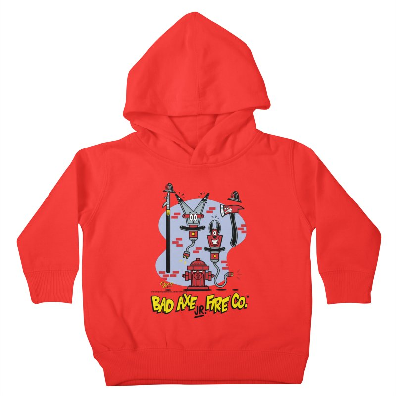 Bad Axe Jr. Kids Toddler Pullover Hoody by righthemispherelaboratory's Shop