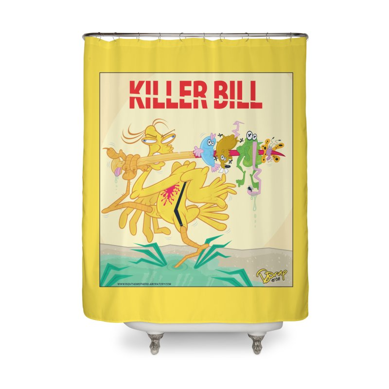Killer Bill Home Shower Curtain by righthemispherelaboratory's Shop