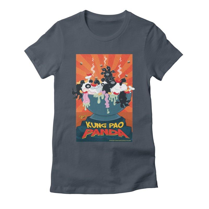 Kung Pao Panda Women's T-Shirt by righthemispherelaboratory's Shop