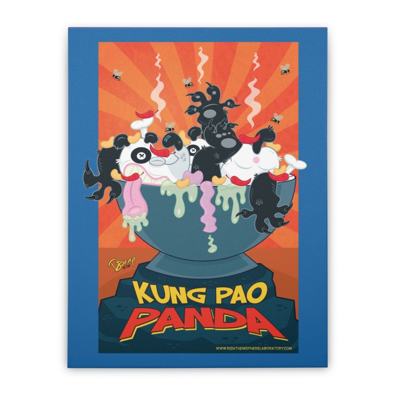 Kung Pao Panda Home Duvet by righthemispherelaboratory's Shop