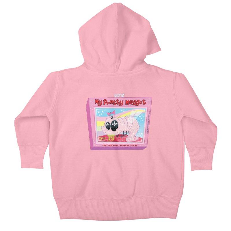 My Pretty Maggot Kids Baby Zip-Up Hoody by righthemispherelaboratory's Shop