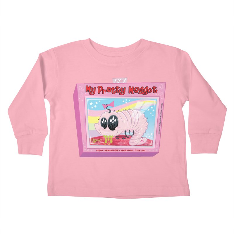 My Pretty Maggot Kids Toddler Longsleeve T-Shirt by righthemispherelaboratory's Shop