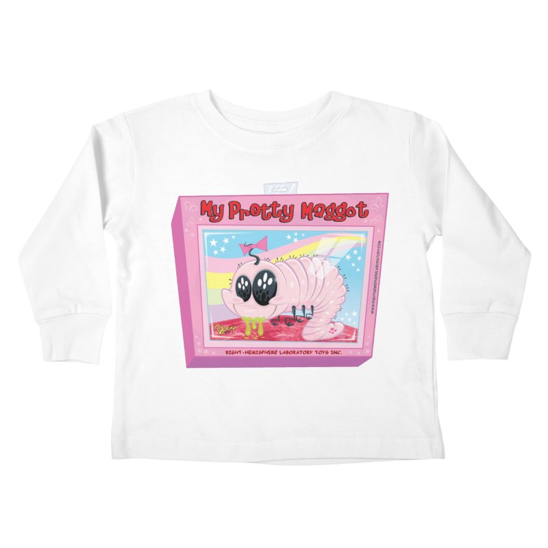 My Pretty Maggot Kids Toddler Longsleeve T-Shirt by righthemispherelaboratory's Shop
