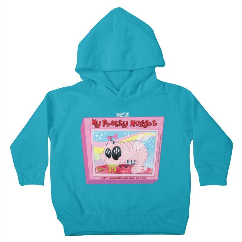 My Pretty Maggot Kids Toddler Pullover Hoody by righthemispherelaboratory's Shop