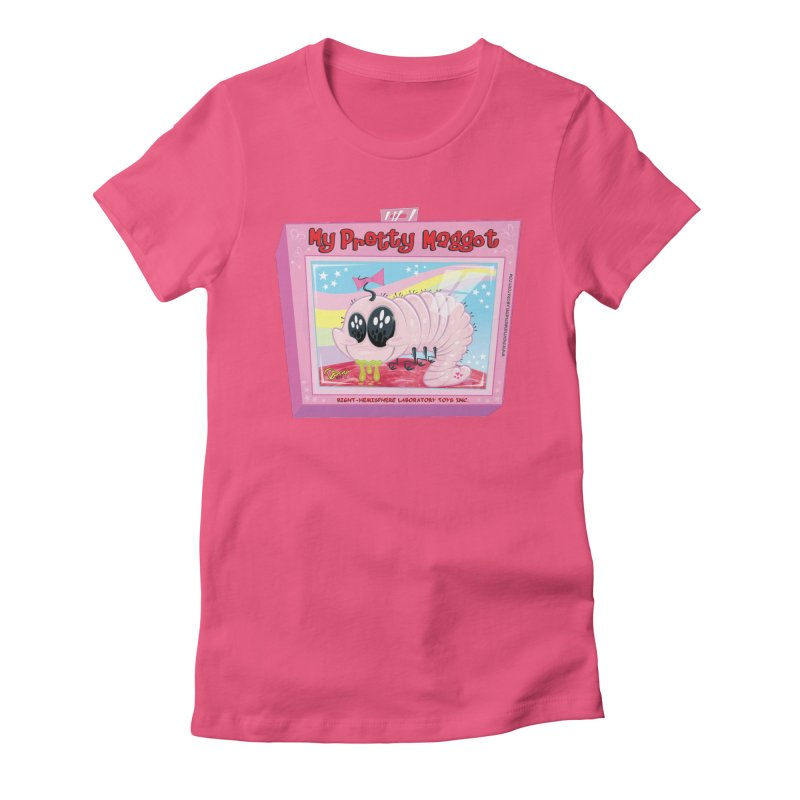 My Pretty Maggot Women's T-Shirt by righthemispherelaboratory's Shop