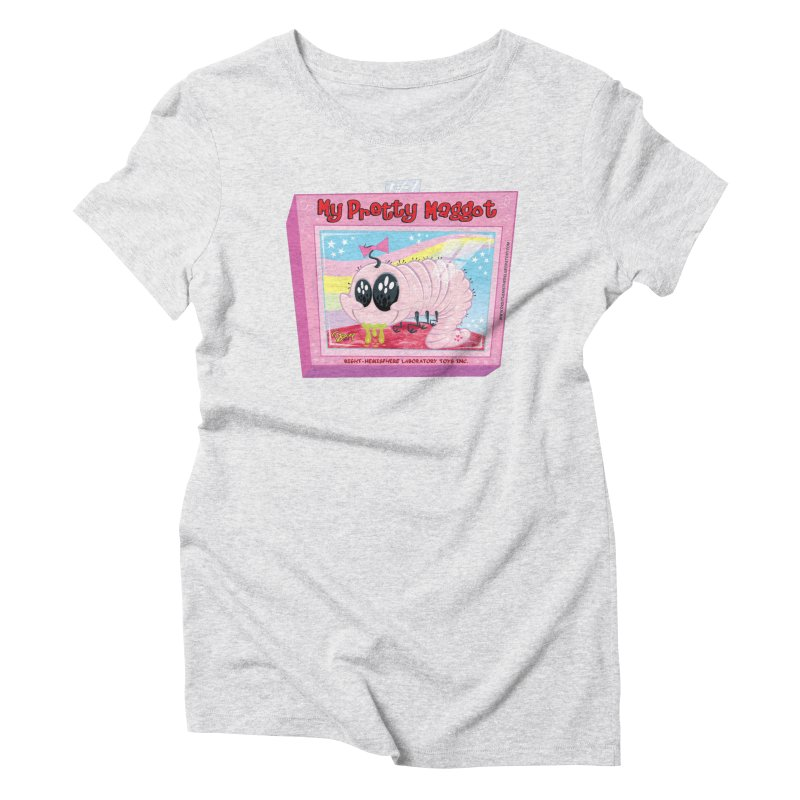 My Pretty Maggot Women's T-Shirt by righthemispherelaboratory's Shop