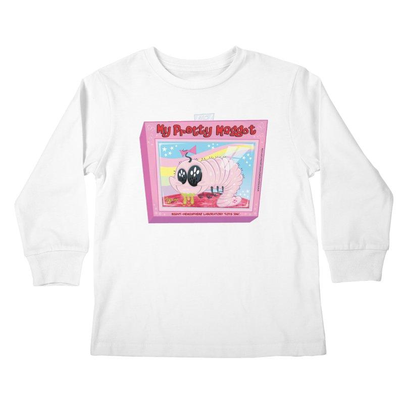 My Pretty Maggot Kids Longsleeve T-Shirt by righthemispherelaboratory's Shop