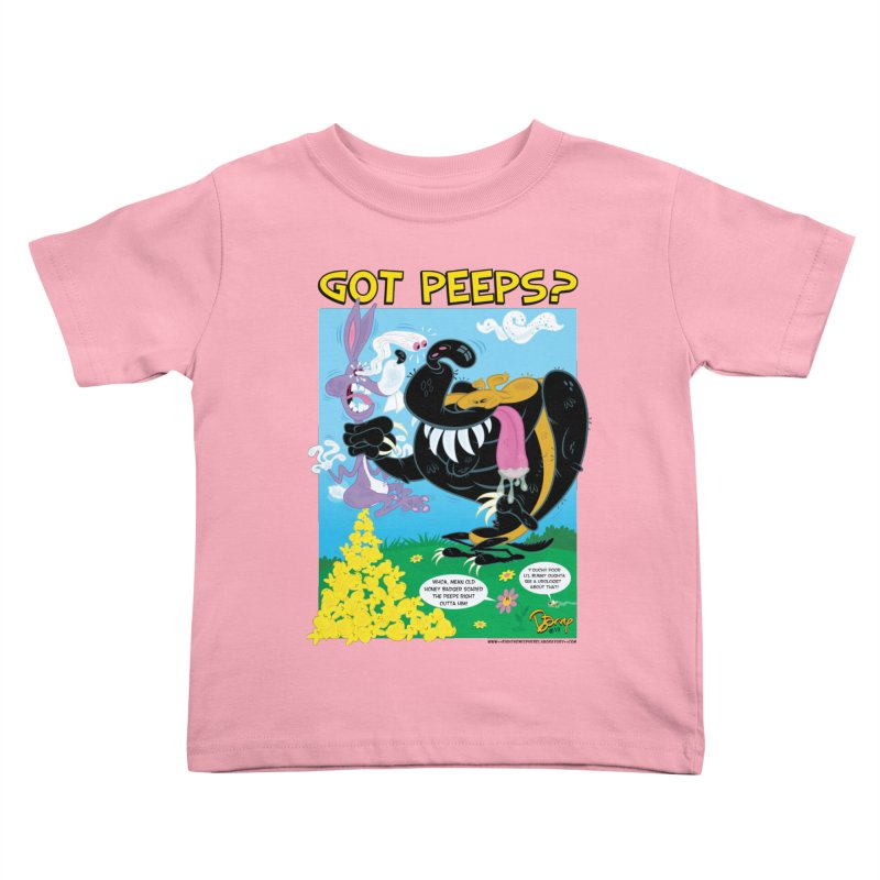 Got Peeps? Kids Toddler T-Shirt by righthemispherelaboratory's Shop