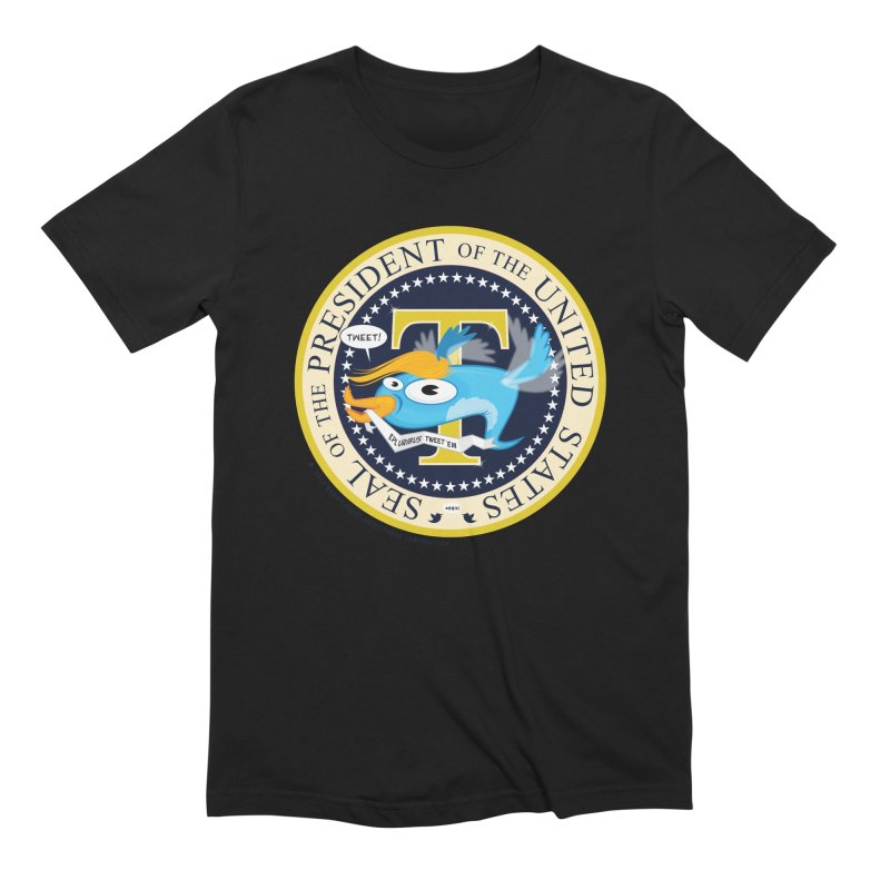 Trump POTUS Seal Men's Extra Soft T-Shirt by righthemispherelaboratory's Shop