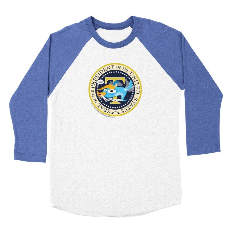 Trump POTUS Seal Men's Baseball Triblend Longsleeve T-Shirt by righthemispherelaboratory's Shop